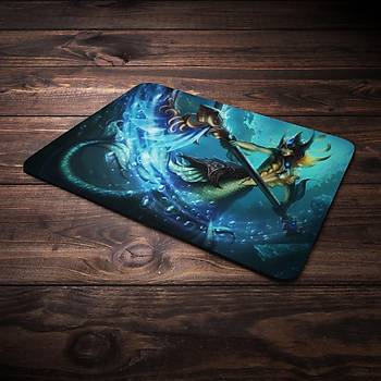 League Of Legends Nami Þampiyon Baskýlý Mousepad (BÜYÜK GAMEPAD)