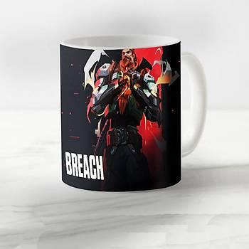 Valorant Model  Breach3 Desenli Kupa Bardak