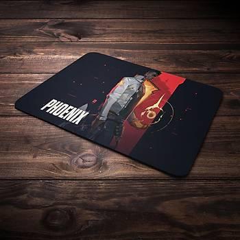 Valorant Model Phoenix2 Baskýlý Mousepad (BÜYÜK GAMEPAD)