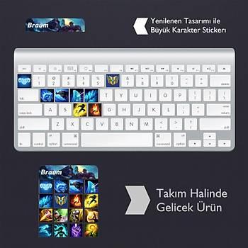 Braum: Klavye Sticker Set