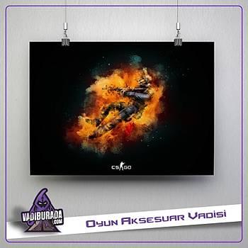 CS:GO : Orange Poster
