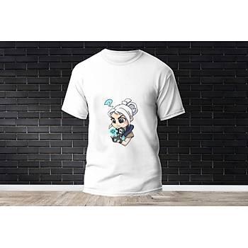Jett Baskýlý Model 2  T-Shirt