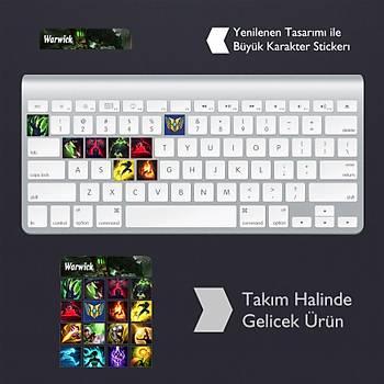 Warwick: Klavye Sticker Set
