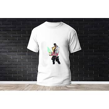 Phoenix Baskýlý Model 2  T-Shirt