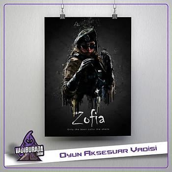 Rainbow Six Siege : Zofia Poster