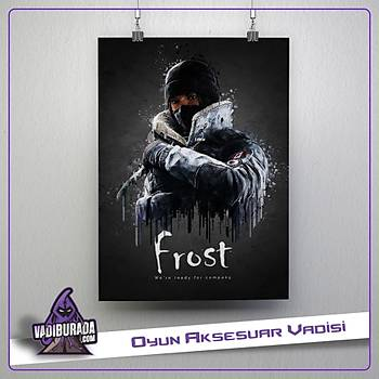 Rainbow Six Siege : Frost Poster