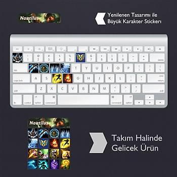 Nautilus: Klavye Sticker Set