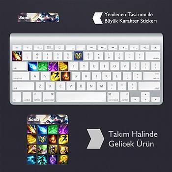Sona: Klavye Sticker Set