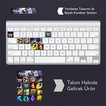 Fiora: Klavye Sticker Set
