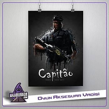 Rainbow Six Siege : Capitao Poster