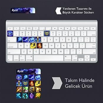 Ryze: Klavye Sticker Set