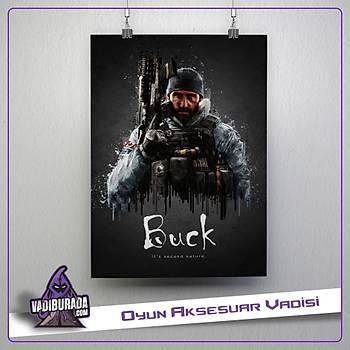 Rainbow Six Siege : Buck Poster