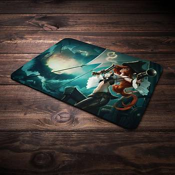 League Of Legends Miss Fortune Þampiyon Baskýlý Mousepad (BÜYÜK GAMEPAD)