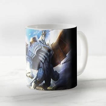 League Of Legends Galio Baskýlý Kupa Bardak