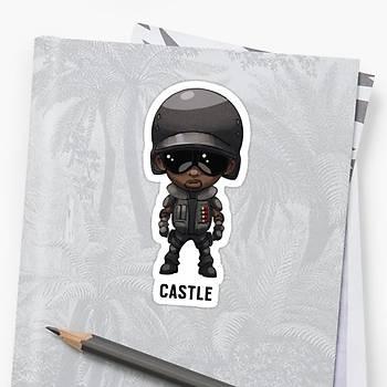 R6 : Castle Sticker (2 adet)