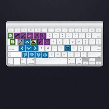 Fortnite : Klavye Sticker