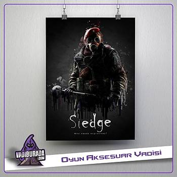 Rainbow Six Siege : Sledge Poster