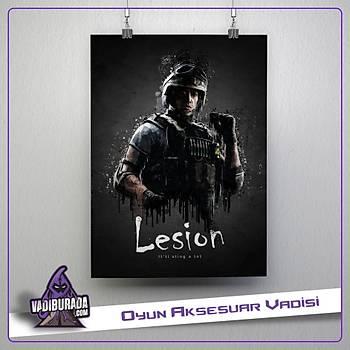 Rainbow Six Siege : Lesion Poster