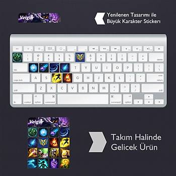 Veigar: Klavye Sticker Set