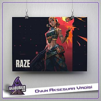 Raze M1: Valorant Poster