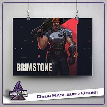 Brimstone M1: Valorant Poster