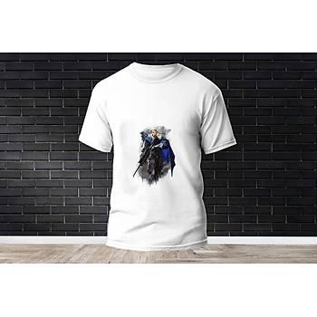 Sova Baskýlý Model 14  T-Shirt