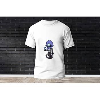 Omen Baskýlý Model 2  T-Shirt