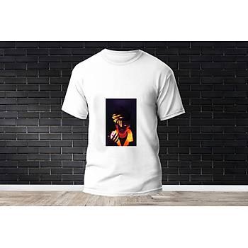 Phoenix Baskýlý Model 18  T-Shirt