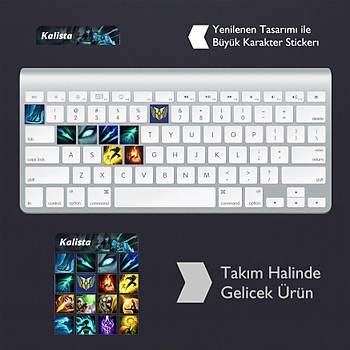 Kalista: Klavye Sticker Set