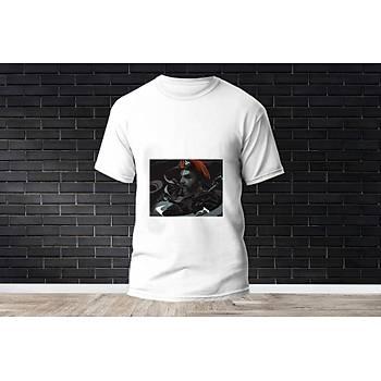 Brimstone Baskýlý Model 6  T-Shirt