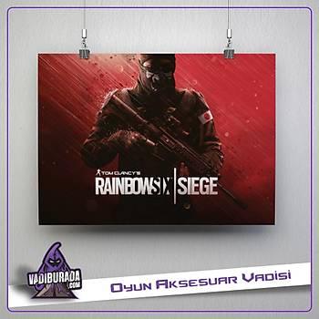Rainbow Six Siege : A-Model 4 Poster