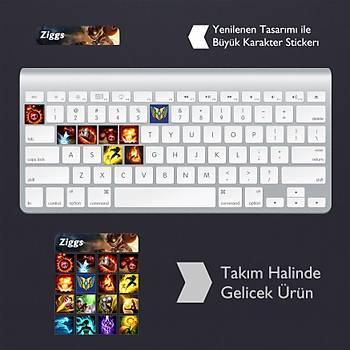 Ziggs: Klavye Sticker Set