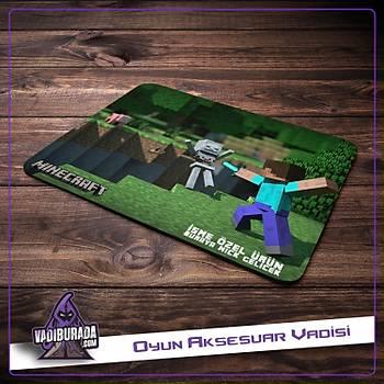 Ýsme Özel Minecraft: Mouse Pad M:12
