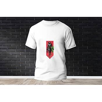 Viper Baskýlý Model 6  T-Shirt