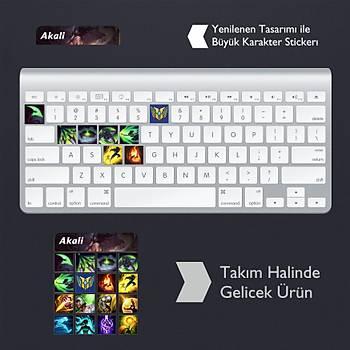 Akali: Klavye Sticker Set