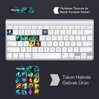 Thresh: Klavye Sticker Set