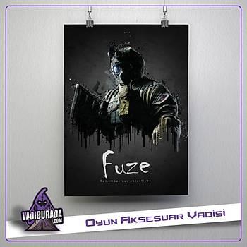 Rainbow Six Siege : Fuze Poster