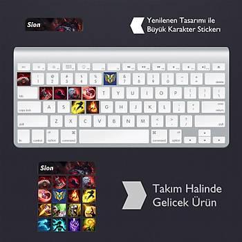 Sion: Klavye Sticker Set