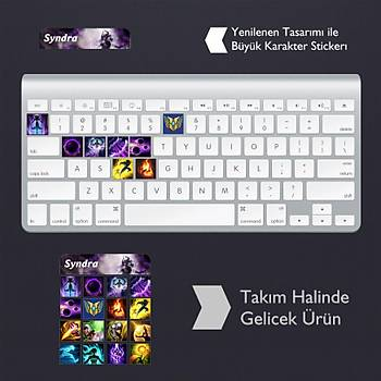 Syndra: Klavye Sticker Set