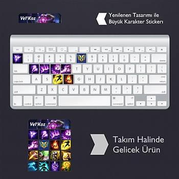 Vel'Koz: Klavye Sticker Set