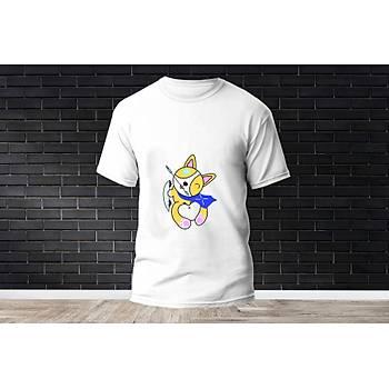Sova Baskýlý Model 16  T-Shirt