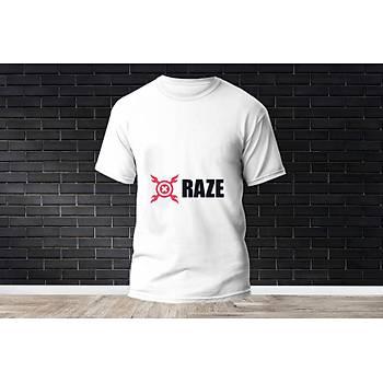 Raze Baskýlý Model 6  T-Shirt