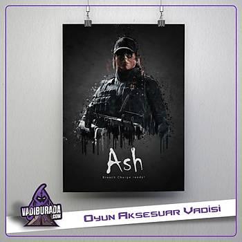 Rainbow Six Siege : Ash Poster