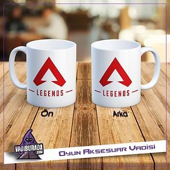 Apex Legends Kýrmýzý Logolu Kupa