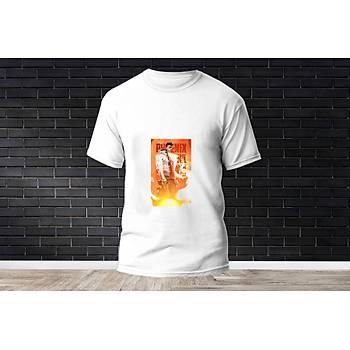Phoenix Baskýlý Model 15  T-Shirt