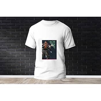 Breach Baskýlý Model 11  T-Shirt