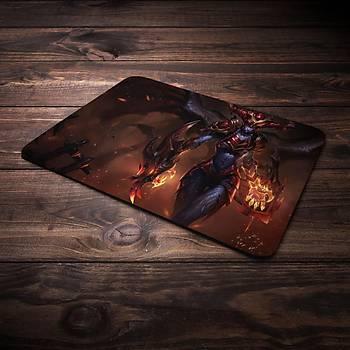 League Of Legends Shyvana Þampiyon Baskýlý Mousepad (BÜYÜK GAMEPAD)
