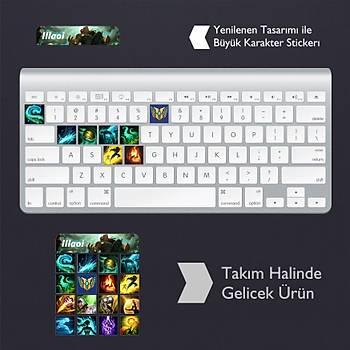 Illaoi: Klavye Sticker Set