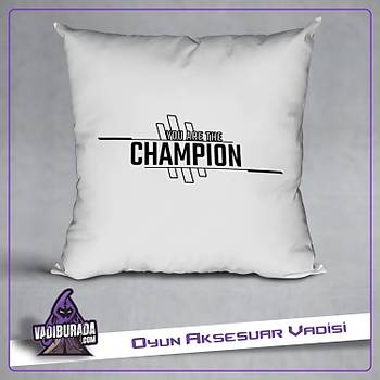 Apex Legends Champýon Logolu Yastýk