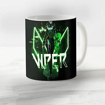 Valorant Model  Viper Desenli Kupa Bardak